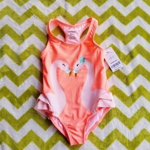 Carter's Love Birds One Piece Swimsuit NWT $32